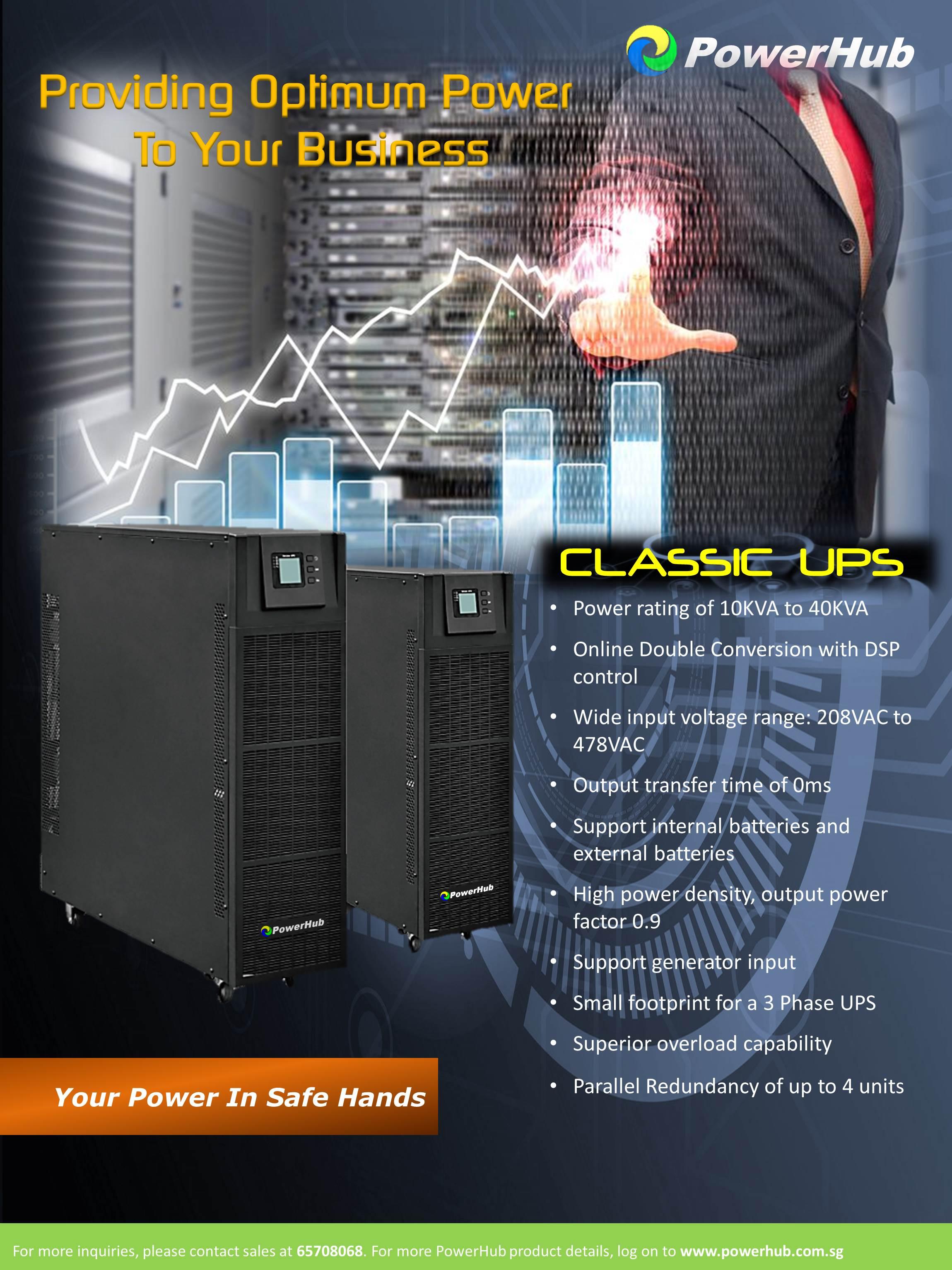 CLASSIC UPS