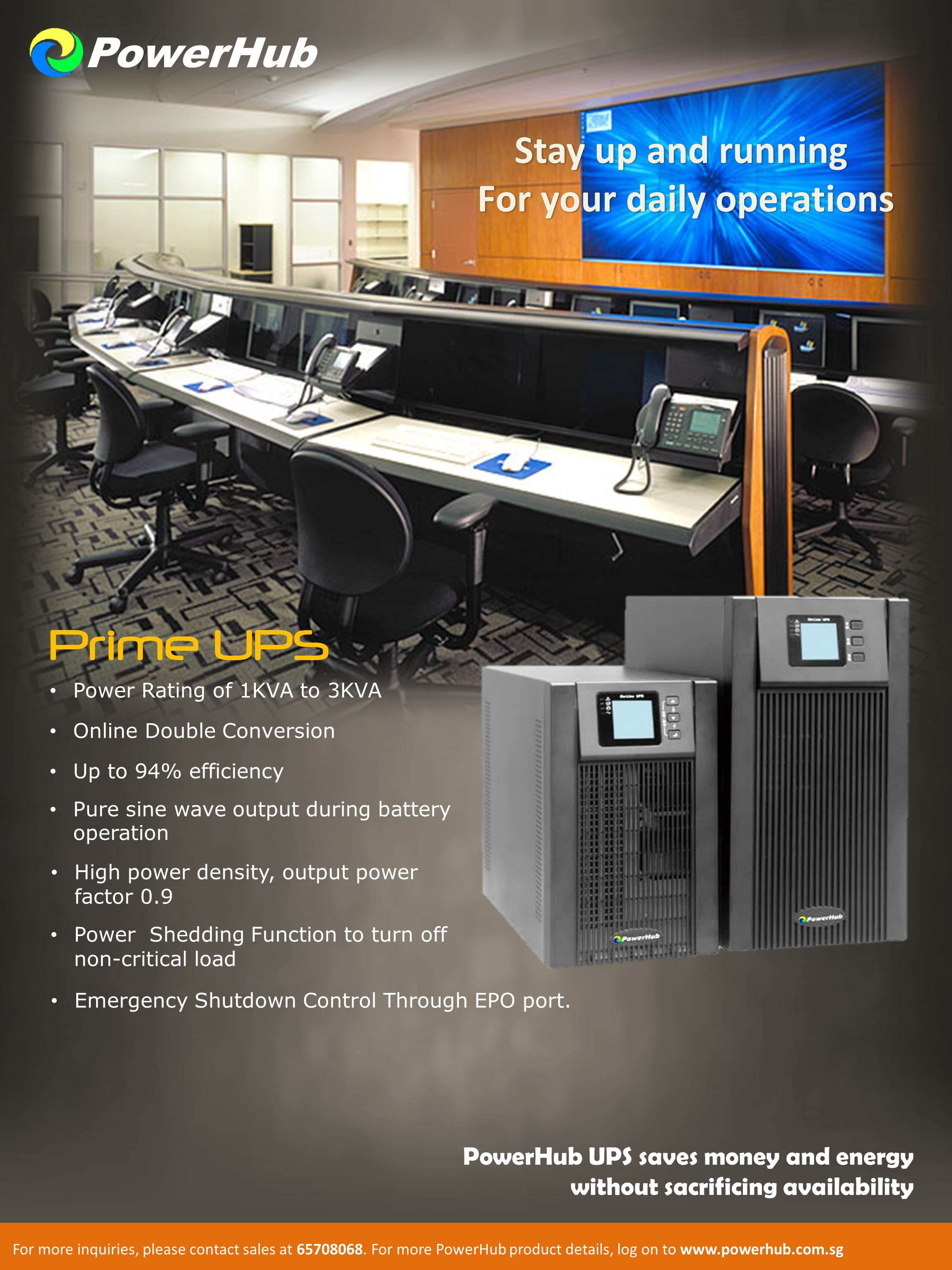 PRIME UPS Tower