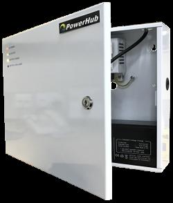 PowerHub 12V DC Power Supply Charger Enclosure   PowerHub
