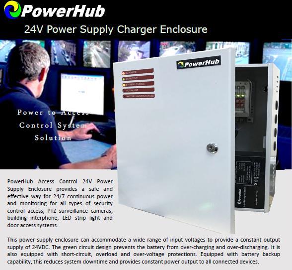 Access Control 24V DC UPS